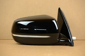 17 18 19 20 Acura MDX Mirror Right RH Passenger OEM Black Autodim Power Fold