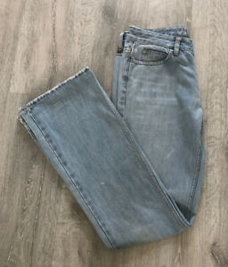 Ladies Karen Millen Jeans - Light Blue - Bootcut - 90's style - UK Size 10