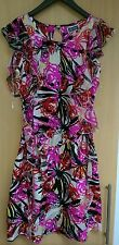 LIPSY Kleid Mini UK8 36 NEU UVP149€ Seide apart
