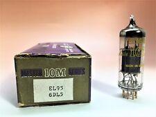 10M Master Series -IEC- EL95 6DL5.  Gold Pin