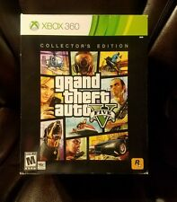Grand Theft Auto V Collector's Edition Xbox 360 Great Shape *NO GAME DISCS*