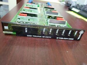 Mitel 9109-031-000-SA DID Trunk 6 CCT