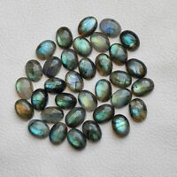 16X12 MM 6pcs Rare Multi Flashy Labradorite Cabochon Oval Shape Calibrated Labradorite Loose Gemstone For Jewelry Wholesale lot Price V5033