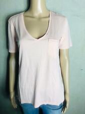 G STAR - Basic T-Shirt Shirt V-Ausschnitt rosa  - NEU Gr 42 XL  1264a