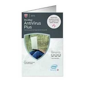 McAfee Antivirus Plus 2015 - 3 PCs Net Guard PC Key Card Intel Security