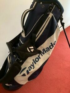 Taylormade stand bag in navy & white