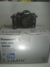 Panasonic LUMIX DMC-G2K 12.1 MP Camera - Black - BODY ONLY 8 Cond- WE0JR001364