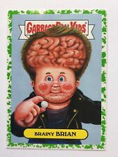 Garbage Pail Kids Prime Slime Trashy Sci-Fi TV Sticker 5b Brainy Brian Green