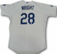 Jamey Wright Official Major League GAME USED Los Angeles Dodgers 2014 NLDS MLB