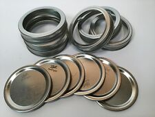 Ball Mason Jar Lids and Rings - 120 Count - Regular Mouth
