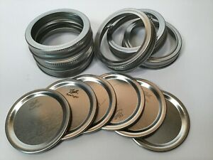 Ball Mason Jar Lids and Rings for Canning - 120 Count - Regular Mouth