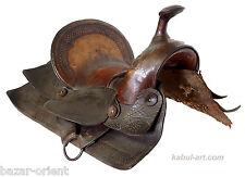 Westernsattel original antik Pferdesattel Sattel Cowboy western Horse Saddle
