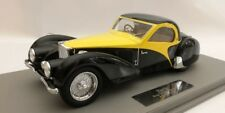 Ilario Bugatti T57SC Atalante 1937 sn57562 Original Car Black/Yellow 1/18 LE50