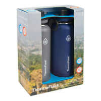 2 Pack, Thermoflask 40oz Stainless Steel Water Bottle Set Blue Ships / SOLD USA