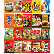 Korean Ramen Variety Box 20 Packs