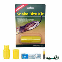 Coghlans Emergency Snake Bite Kit Camping Hiking Survival Aid Bug Out Disaster