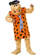 Adults Fred Flintstone Supreme Deluxe Rental Quality Caveman Costume (No Tie)NEW