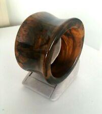 Iris Apfel Tortoise Shell Resin Bangle Bracelet S/M