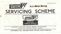 Scalextric Servicing Scheme Thirteenth Edition Rare Vintage Official Paperwork