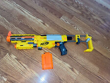 Nerf Recon CS6 Gun N Strike with Extended Barrel Red Dot Darts Includes 6 ammo