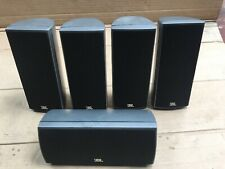 JBL Surround Speakers 5-piece 160 sisat,150 Sicen