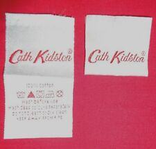 5 x ORIGINAL Cath Kidston Satin Woven LABELS for craft cards applique bags
