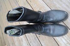 VTG Vintage Chippewa Engineer Boots Black USA