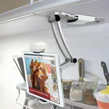 Kitchen Desktop Tablet/ipad/IPAD Air/Mini Stand Wall Mount iPad Holder- Silver