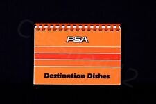 PSA Vintage Recipes DESTINATION DISHES Pacific Southwest Airlines 174 Pages Gift
