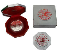Singapore 2004 2oz 999 Fine Silver $10 Piedfort Proof Coin Lunar Monkey RARE