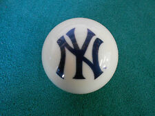 NEW! MLB New York Yankees Collector White Pool / Billiard Cue Ball -