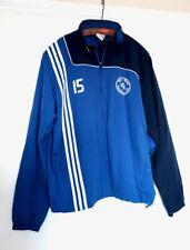 ADIDAS fvl blau weiß neukloster Football training top jacket