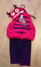 New Baby Red Little Devil Fancy Dress Party Costume Age 6/9 Months