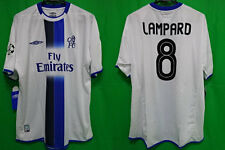 2003-2004 Chelsea FC Jersey Shirt Away Fly Emirates Lampard #8 XL Uefa CL BNWT