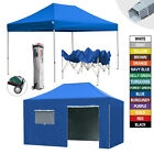HEAVY DUTY 10X15 Easy Pop Up Commercial Canopy Outdoor Patio Tent W/Wheeled Bag