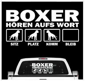 Hund Folie Aufkleber  Autos Mofas Türen Fenster Spiegel Schränke Boxen Schwarz