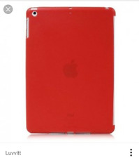 LUVVITT DOLCE Soft Back Cover for iPad Air Tablet Cover Protector Red NEW Apple