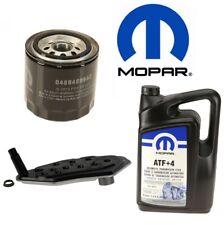 MOPAR OEM Oil Filter AT Fluid & Auto Trans Filter Kit For Dodge Jeep Chrysler