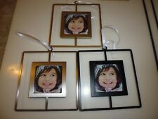 "New ! Metal Photo Frame Silver Gold or Black size: 2.5""  X 2.5"""