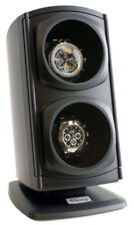 Double Watch Winder Automatic in Black Boxes Cases Multiple Program Display Show