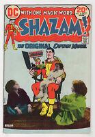 Shazam! 6 (Oct 1973 DC) Denny O'Neil Elliot Maggin CC Beck Kurt Schaffenberger k