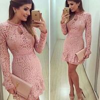 Sexy Women Summer Sleeveless Bodycon Short Mini Dress Party Evening Pencil Dress