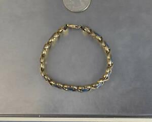"CrazieM Sterling 925 Silver Vintage Southwest Estate Bracelet 6.5-7"" 13.5g x42"