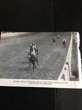 L1-3 Ephemera 1968 Small Picture Horse Racing Epsom Great Pleasure La Foire Ii