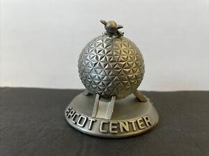 DISNEY Epcot Spaceship Earth Small Figure Statue