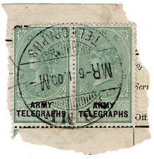 (I.B-BOB) QV Telegraphs : Army Telegraphs 1/- (Modder Military - Boer War)