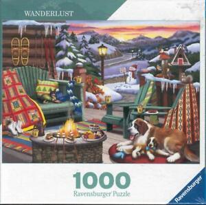 Nancy Wernersbach Ravensburger Wanderlust Jigsaw Puzzle Apres All Day NIB