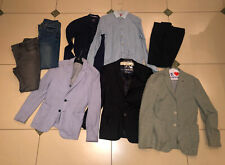 8 Pieces of ZARA Men's Clothing Bulk Sale  Jackets / Pants / Shirts