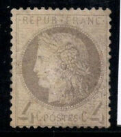 France 1872 Yv. 52 MH 60% 4 C, Ceres