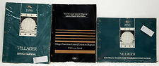 OEM 1998 Ford Mercury Villager Workshop Service Manual / Emissions / Vacuum Set